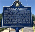 Image for Lynching in Montevallo - Montevallo, AL