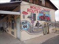 Image for Route 66 Map - Mural - El Trovatore,  Kingman, Arizona, USA.