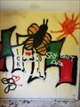 Image for Buttlerfly, Sun & Bug Graffiti in Lost House - Osnabrück, NDS, Germany
