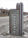 Image for Berwyn, IL Route 66 welcome sign