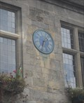 Image for Clock on Diocesan Registry Offices, 14 Market Place, Wells, Somerset. BA5 2UD.