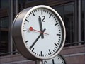 Image for The Canary Wharf Clocks - Jubilee Plaza, Canary Wharf, London, UK