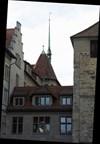 Fraumunster Abbey rooflines, Zurich