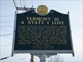Image for Vermont is a State I Love - Bennington, VT