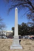 Image for Civil War Memorial Obelisk -- Wichita Falls