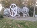 Image for Lock Gate Mechanism - Huningue, Alsace, France