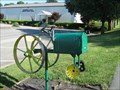 Image for Green and Yellow Tractor Mailbox - Kingsport, TN