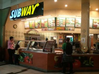 Subway Santa Rosa Mall Santa Rosa Ca Subway Restaurants On