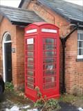 Image for Hulcote - Red Phone Box.