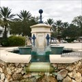 Image for Lake Sumter Landing Fountain - The Villages, Florida USA