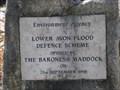 Image for Lower Avon Flood Defence Plaque - Bridge Street, Christchurch, Hampshire, UK