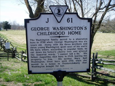 the early childhood of george washington The national holiday called washington's birthday may have passed, but today is  george washington's real 286th birthday here are.