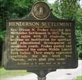 Image for Henderson Settlement