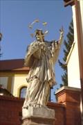 Image for Socha sv. Jana Nepomuckého - Šlapanice, Czech Republic