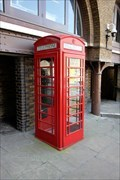 Image for Red Telephone Box - St Katharine's Dock, London, UK