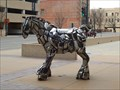Image for Chrome Bumper Horse - Wichita, Kansas USA