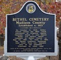 Image for Bethel Cemetery Madison County - Paint Rock. AL