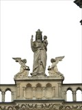 Image for Virgin Mary with infant Jesus (Between the main Towers) - Cathedral Laon / France