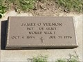 Image for 101 - James O. Vernon - Norman I.O.O.F. Cemetery - Norman, OK
