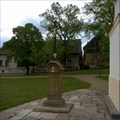 Image for Christian Cross - village square, Kacice, Czechia