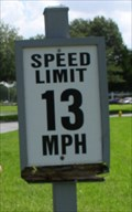 Image for Speed Limit 13 MPH -- Executive Park Court