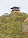 Gardner Lookout, East Peak, Mount Tamalpais, Marin County, California
