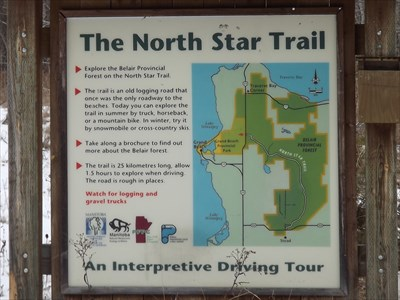 North Star Trail - Belair Forest MB - Offroad Trails on Waymarking.com