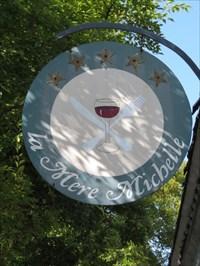 La Mere Michelle Sign, Saratoga, CA