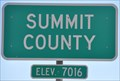 Image for Interstate 80 Eastbound ~ Summit County - Elevation 7016