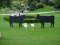 Image for The unknown two black cows - Swarovski Kristallwelten, Wattens, Tirol, Austria