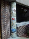 Image for Honors Hall Mosaic Column #4 - Jacksonville, FL