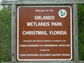 Image for Orlando Wetlands Park