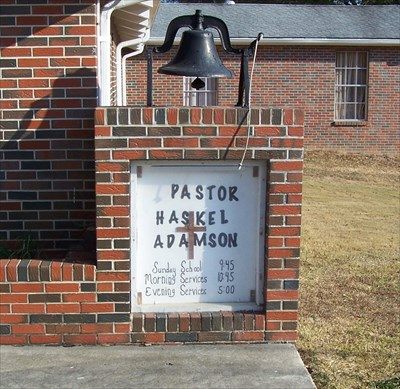 Cleveland Westside Baptist Church Bell - Cleveland, AL - Bells on