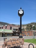 Image for Historic Meeker Colorado Clock - Meeker, CO, USA