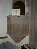 Image for Stone Pulpit, Holy Trinity Church, Trimpley, Worcestershire, England