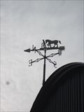 Image for Plough Weathervane, Llanuwchllyn, Bala, Gwynedd, Wales, UK