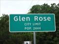 Image for Glen Rose, TX - Population 2444