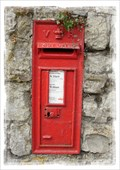 Image for Victorian Post Box - Sutton Valence, Kent.