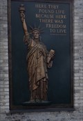 Image for Raised Bronze Statue of Liberty - Allentown, PA