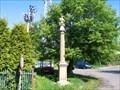 Image for Sloup se sochou sv. Jana Nepomuckeho, Unetice, Czechia