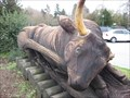 Image for Ox carved piece - Felton, CA