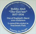 Image for Bobby Abel - Southwark Park, Bermondsey, London, UK