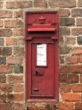 Image for Victorian Wall Post Box - Feldon, Hemel Hempstead, Hertfordshire, UK