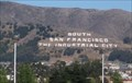 Image for South San Francisco Hillside Sign - South San Francisco, CA