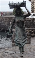 Image for Fisherwoman Sculpture - Puerto de la Cruz, Tenerife