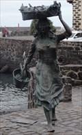 Image for Fisherwoman Sculpture - Puerto de la Cruz, Tenerife