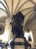 Image for Hamburg-Wappen der Treppen-Löwen im Rathaus -Hamburg, Germany
