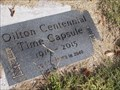 Image for Oilton Centennial Time Capsule, Oilton, OK