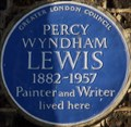 Image for Percy Wyndham Lewis - Palace Gardens Terrace, London, UK