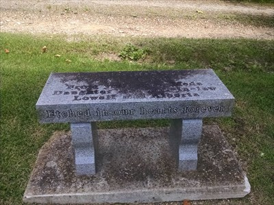 Bill Call dedicated bench, by MountainWoods